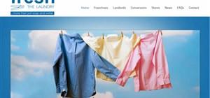 South African Website Design - Fresh Laundry Franchise