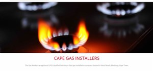 Cape Town Web design - 1 page web design - The Gas Works